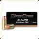 Blazer - 45 Auto - 230 Gr - Full Metal Jacket - 50ct - 5230