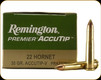Remington - 22 Hornet - 35 Gr - Premier AccuTip-V - 50ct - 29154