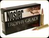 Nosler - 28 Nosler - 160 Gr - Trophy Grade - Accubond Spitzer - 20ct - 60035