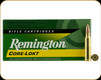 Remington - 250 Savage - 100 Gr - Express Core-Lokt - Pointed Soft Point - 20ct - 29077
