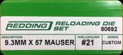 Redding - Full Length Sets - Custom - 9.3mm X 57 Mauser - 80692