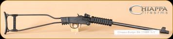 """Chiappa - Little Badger - 17 HMR - BlkSynBl, 16.5"""", Threaded barrel, Nylon Case"""