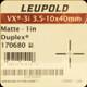 """Leupold - VX-3i - 3.5-10X40 - Matte - 1"""" - Duplex"""
