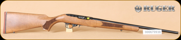 "Ruger - 22LR - 10/22 - French Walnut/Blued, no sights, 20"" - b"