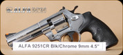 Alfa Proj - 9251 - 9mm - Chrome, 4.5""