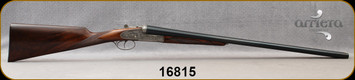 "Arrieta - 12Ga/2.75""/28"" - 581 - Venatum, First Quality Walnut/Blued, round action, ejectors, concave rib, double triggers"