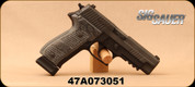 """Consign - Sig Sauer - 9mm - Model P226 Extreme - Hogue G10 Piranha Grips/Black Finish, night sights, 4.4""""Barrel, c/w 3 magazines & hard case - Low rounds fired - Approx 40 rounds of ammo available"""