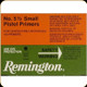 Remington - Small Pistol Primers - No. 5 1/2 - 100ct - 22626