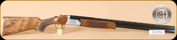 "Cogswell & Harrison - 12Ga/3""/28"" - Windsor - Wd/Bl, Game, single selective trigger, automatic safety, 5 internal chokes - b"
