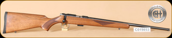 Cogswell & Harrison - 22LR - Certus - Walnut/Blued, threaded muzzle, 20""