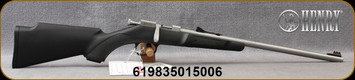 "Henry - 22LR - Mini Bolt - Youth Model - Bolt Action Single Shot Rimfire Rifle - Black Synthetic Stock/Stainless Finish, 16.25""Barrel, Mfg# H005"