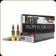 Nosler - 325 WSM - 200 Gr - Trophy Grade - Accubond - 20ct - 60077