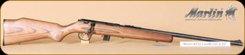 "Marlin - 22LR - Model XT-22 - Bolt Action Rifle - Monte Carlo walnut-finished hardwood stock/Blued, 22"" Barrel, 7 Rounds, Adjustable Sights, Mfg# 70759"