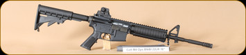 "Colt - 22LR - M4 OPS - BlkSyn/Bl, Quad Rail, 30 rd magazine, 16"", restricted"