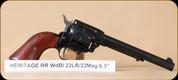 "Heritage - Rough Rider - 22LR/22WMR - Cocobolo/Black, 6.5"""