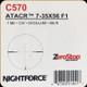 NIGHTFORCE - ATACR - 7-35x56 F1 - ZeroStop - .1 Mil-Radian- DigIllum - PTL - Mil-R - C570