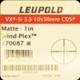Leupold - VX-3i - 3.5-10x 50mm - Matte - Wind-Plex