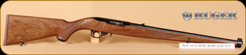 """Ruger - 22LR - 10/22 - International, Wd/Bl, full stock, recoil pad, 18.5"""""""