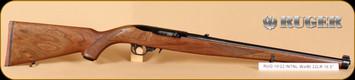 "Ruger - 22LR - 10/22 International Carbine - Talo Exclusive - Walnut Mannlicher Stock/Blued, 18.5"" Barrel, Mfg# 01265"