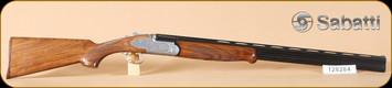"Sabatti - 20Ga/3""/28"" - Alpen Eagle - O/U, Wd/Bl, engraved receiver, ejectors - b"