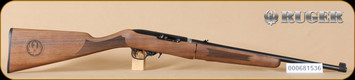 "Ruger - 22LR - 10/22 - Deluxe Classic VI Walnut Stock/Blued, Takedown Rifle, includes bag, 18.5"" - Mfg# 21149, S/N 000681536"