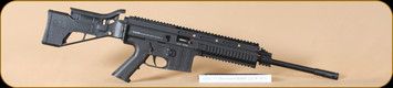 "German Sporting Guns - GSG-15 - 22lr - Standard Black, 16.5"" Bbl, c/w Flip up sights, 22 round magazine"