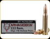 Nosler - 222 Rem - 40 Gr - Varmageddon - Flat Base Hollow Point - 20ct - 65130