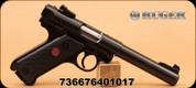 "Ruger - 22LR - Mark IV -  BlkSyn/Bl, bull brl, 5.5"" - Mfg# 40101"
