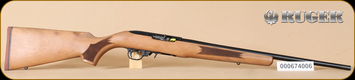 "Ruger - 22LR - 10/22 - French Walnut/Blued, No sights, 20""Barrel, Mfg# 11165"