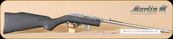 """Marlin - 22LR - 70PSS - Papoose - BlkSYn/SS, 16"""""""