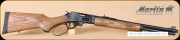 "Marlin - 30-30Win - Model 336BL - Large Loop Lever Action - Laminated Wood Pistol Grip Stock Blued Barrel and Receiver, 18"" Barrel, 6 Rounds, Mfg# 70502"