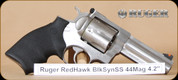 "Ruger - 44Mag/44Spl - RedHawk - Black Synthetic/Stainless, 4.17""Barrel - Mfg# 05026"
