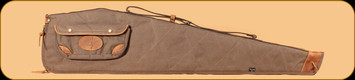Browning - Lona - Canvas/Leather Flexible Shotgun Case - Flint&Brown - 48""