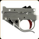 Timney Triggers - Trigger/Guard Complete Assembly - Ruger 10/22 2-3/4 lb -Red Shoe -  Silver - 1022-2C-16