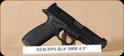 "Remington - 9MM - RP9 - Black Polymer/Black PVD Finish, 4.5""Match Grade Barrel, Striker Fired, Mfg #96476"