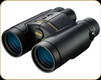 Nikon - LaserForce - Laser Rangefinder Binocular - 10x 42mm Roof Prism - Black - 16212