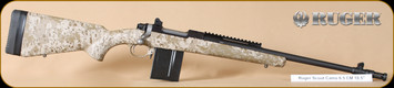 Ruger - 6.5Creedmoor - M77 - GS Scout, Tan DigiCamo/MatteBl, 18.5""