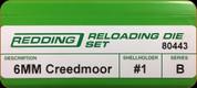 Redding - Full Length Sets - 6mm Creedmoor - 80443