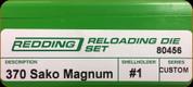 Redding - Full Length Sets - 370 Sako Magnum - 80456