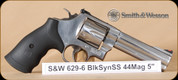 """Smith&Wesson - 44Mag - 629-6 - BlkSyn/SS, 5"""""""