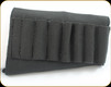 Levy's Leather - Elastic Hunting Sling - Rifle Style - Holds Six Hi-power of Magnum Calibre Sizes - S44-BLK
