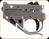 Timney Trigger - Trigger/Guard - Ruger 10/22 2-3/4 lb - Black Shoe - Silver - 1022-1C-16