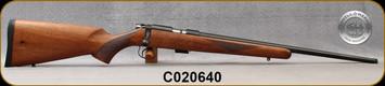 "Cogswell & Harrison - 22LR - Certus - Walnut/Blued, adjustable trigger pull, 2 sling studs, 1/2"" UNF muzzle threading, 20"" - S/N C020640"