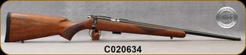 "Cogswell & Harrison - 22LR - Certus - Walnut/Blued, adjustable trigger pull, 2 sling studs, 1/2"" UNF muzzle threading, 20"" - S/N C020634"