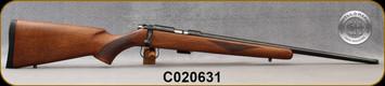 "Cogswell & Harrison - 22LR - Certus - Walnut/Blued, adjustable trigger pull, 2 sling studs, 1/2"" UNF muzzle threading, 20"" - S/N C020631"