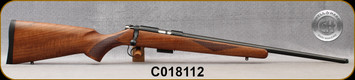 "Cogswell & Harrison - 17HMR - Certus - Walnut/Blued, adjustable trigger pull, 2 sling studs, 1/2"" UNF muzzle threading, 20"" - S/N C018112"