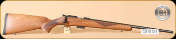"Cogswell & Harrison - 17HMR - Certus - Walnut/Blued, adjustable trigger pull, 2 sling studs, 1/2"" UNF muzzle threading, 20"" - d"