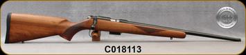 "Cogswell & Harrison - 17HMR - Certus -  Walnut/Blued, adjustable trigger pull, 2 sling studs, 1/2"" UNF muzzle threading, 20"" - S/N C018113"