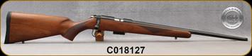 "Cogswell & Harrison - 17HMR - Certus - Walnut/Blued, adjustable trigger pull, 2 sling studs, 1/2"" UNF muzzle threading, 20"" - S/N C018127"