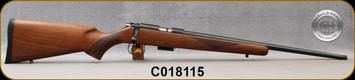 "Cogswell & Harrison - 17HMR - Certus - Walnut/Blued, adjustable trigger pull, 2 sling studs, 1/2"" UNF muzzle threading, 20"" - S/N C018115"